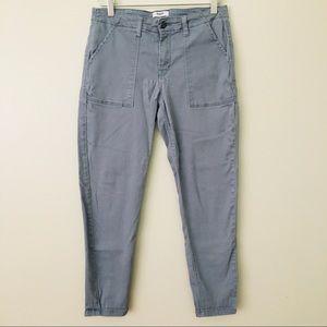 Kensie Gray Cargo Pants